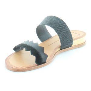 Dolce Vita Pacer Black Womens Shoe 9.5 sandal